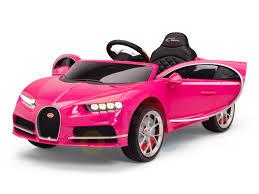 Sealed plastic bag or original window box. Pink Official Bugatti Chiron Kids Ride On Car Kids Vip