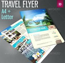 Brochure Template Free Travel Flyer Templates Psd Download – Medizen