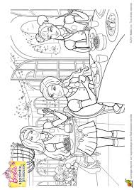 Coloriage Barbie Apprentie Princesse 06 Sur Hugolescargot Com