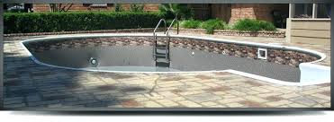 fiberglass inground pools tulsa vinyl liner pool photos gallery in ground above89
