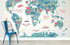 wall world map world map wallpaper explorer kids world map mural muralswallpaperco world map wall sticker