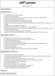 Best Office Manager Resume Sample Manager Resum