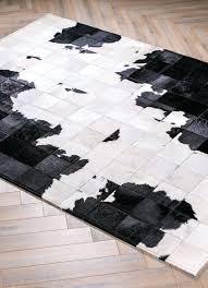 cowhide patch rug cowhide patchwork rug white cowhide patchwork rug canada
