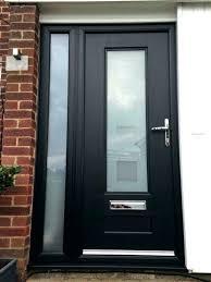 frosted glass exterior door modern doors entry s 4 panel