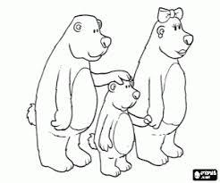 Kleurplaten Goudlokje En De Drie Beren Kleurplaat