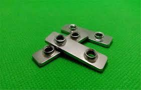 3D printer parts openbuilds double T Nut <b>carbon steel chrome</b> ...