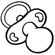 Disegno Di Neonato Supereroe Da Colorare Per Bambini Con Simbolo