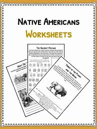 Native American History Facts & Worksheets | PDF Lesson Resources