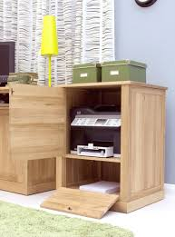 cupboard office. nara solid oak office computer desk furniture printer storage cupboard cabinet