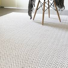 kiwa jute chevron rug in white chevron jute rug