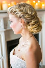 pullled back low updo wedding guest hairstyles for long hair full size