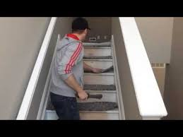 how to carpet stairs 1