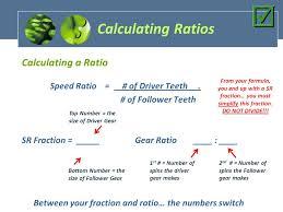 calculating ratios calculating a ratio
