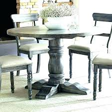 distressed gray dining table distressed round dining table distressed round dining table tables glamorous rustic wood