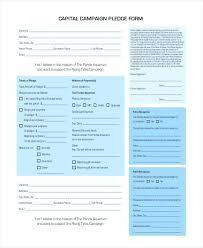 Walkathon Pledge Form Templates Medium Size Of Pledge Form For Fundraising Template Sheets