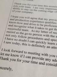 The Proper Etiquette Following A Job Interview Certified Resume
