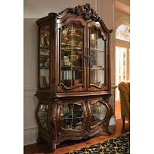 Michael Amini Palais Royale Lighted Curio Cabinet & Reviews | Wayfair