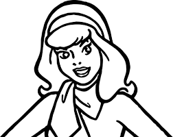 Daphne Scooby Doo Make Up Coloring Page Wecoloringpagecom