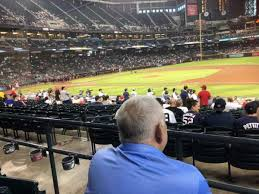 Chase Field Seating Chart Infield Reserve Chase Field Section 115 Home Of Arizona Diamondbacks