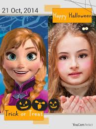 for even more fun after you ve pleted your anna frozen makeup look save your photo and select one of the youcam perfect collages