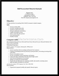 Resume Resume Template Accounting