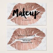 makeup business cards designs 25 design of makeup artist business cards