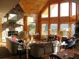 Living Room:Rustic Home Plan Living Room With Log Idea Vintage Decoration  For Log Living