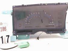 chevrolet s10 instrument clusters 87 88 89 chevy s10 blazer jimmy sonoma speedometer gauge instrument cluster 161k