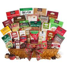 xmas gift baskets. Plain Xmas Christmas Snack Gift Basket Jumbo And Xmas Baskets R