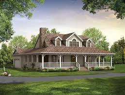 cottage style house plans with wrap around porch new single story farmhouse with wrap around porch