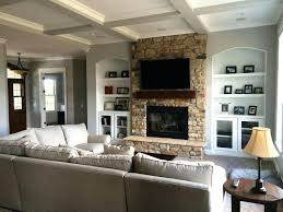 home living fireplaces example of fireplace with built ins and ceiling minus stone choice home living home living fireplaces