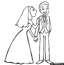 Small Picture Free Wedding Coloring Pages FunyColoring