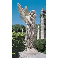 guardian angel garden statue