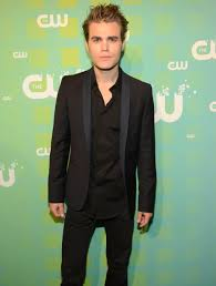 Paul Wesley looked hot in a black suit. | Ian Somerhalder, Nina Dobrev, and  Rachel Bilson Bring the Heat to the CW Upfronts | POPSUGAR Celebrity Photo  37