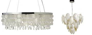 chic mother of pearl chandelier glamour and the chandelier how to use them in your own