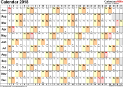 excel 2018 yearly calendar excel calendar 2018 uk 16 printable templates xlsx free