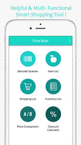 Shopping List Price Calculator Price Book Track Grocery Price App Mobile Apps Tufnc