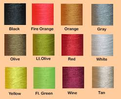 Color Chart Danville Thread 6 0