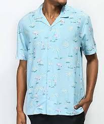 Patterned Button Up Shirts Interesting Mens Button Up Shirts Zumiez