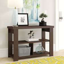 Classic polished wooden entryway bench Hallway Quickview Wayfair Console Sofa And Entryway Tables Youll Love Wayfair