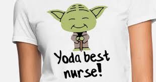 yoda best ainlals pig cartoon patient nurse women s t shirt spreadshirt