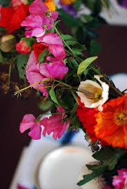 a burst of colour courtesy of your diy hanging flower chandelier photo lisa tilse