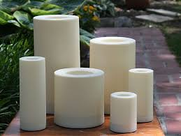 Outdoor Flameless Candles Magnificent Outdoor 32 X 32 Candle Impressions Cream Flameless Candle Timer