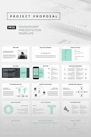 Presentation Template Powerpoint Project Proposal Powerpoint Presentation Template