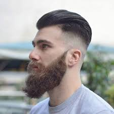 Homme Coiffure Barbe Coiffure Homme Noir Degrade Tendances