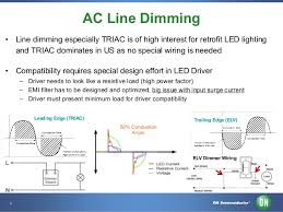 dimmable led driver solutions
