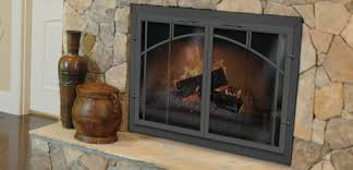 elegant fireplace replacement doors and thermo rite manufacturers the originators of tempered glass