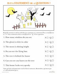 Our 2nd grade phonics worksheets will help you continue to build strong fundamental skills in your students. Statements And Questions Halloween Edition Worksheet Education Com First Grade Writing Teaching Statement 2nd Grade Worksheets