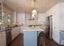 Download Small White Kitchens  MonstermathclubcomSmall Coastal Kitchen Ideas