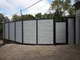 metal fence design. Fence Masters Dfw Replace Old Wood With 9ft High Corrugated Metal Wellmade Decorating Doors And Design C